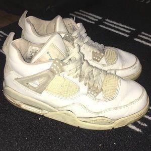 Jordan Shoes   Jordan 4s All White